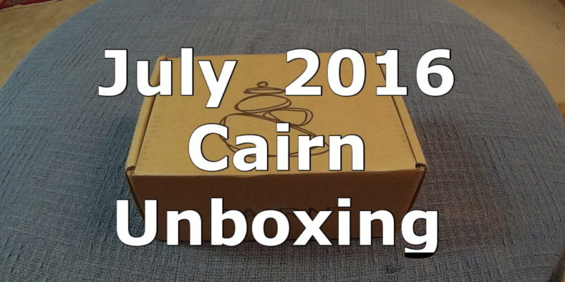July cairn unboxing