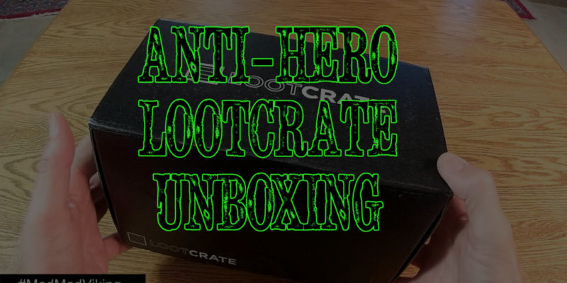lootcrate unboxing video