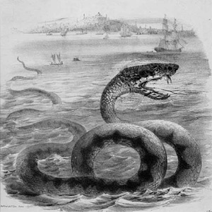 mythical sea serpent