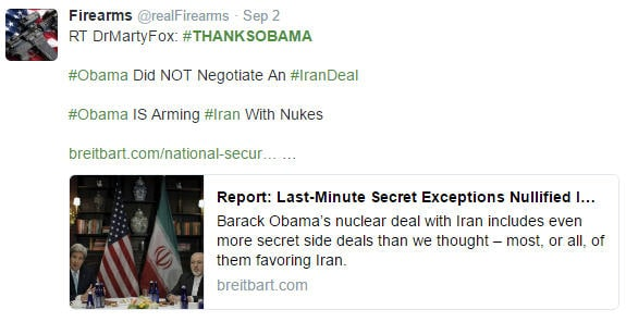 #thanksObama for not quite negotiating a treaty with Iran