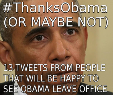 #ThanksObama