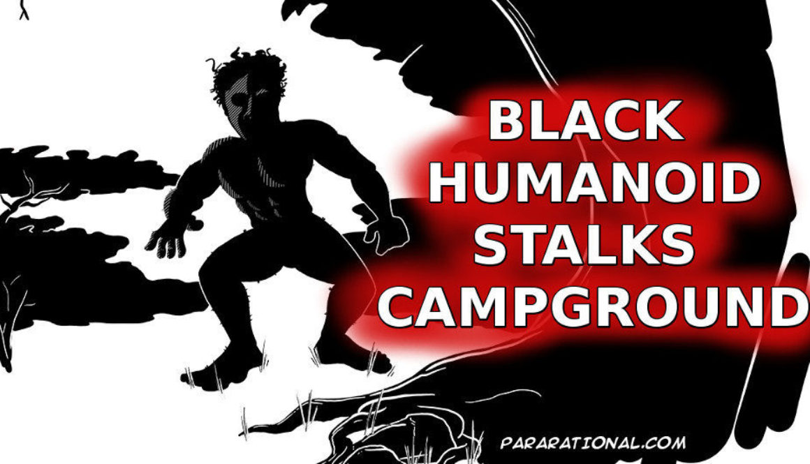 Black Humanoid Sighting
