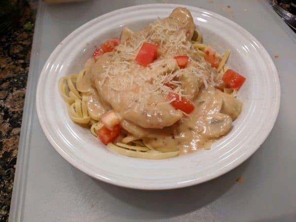MadMadViking's Chicken Vino Bianco