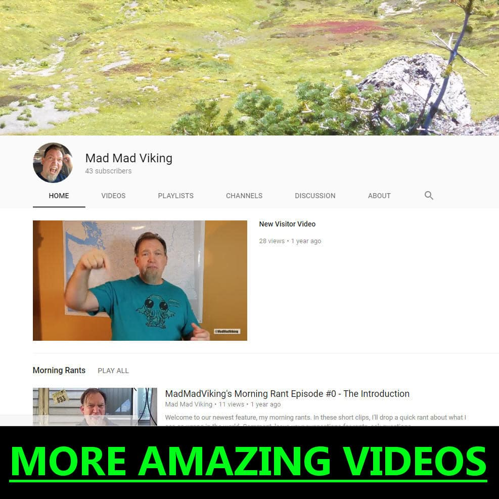 More MadMadViking Videos