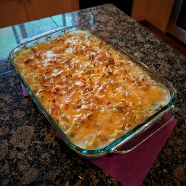 Cliff's Easy Chicken and Noodle Casserole