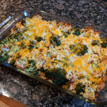 Cliff's easy low carb chicken casserole