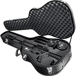 hard sided guitar gun case