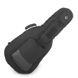 Soft side rifle shaped rifle case