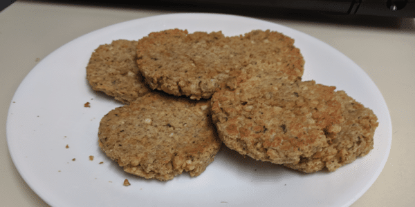 Garbanzo bean patty recipe