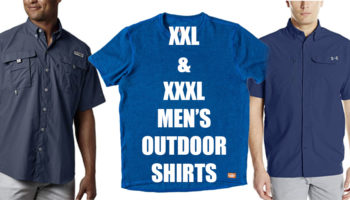 XXL men's outdoor shirts