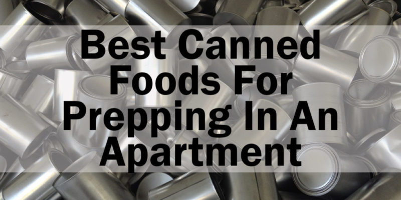 Best canned foods to stock up on in an apartment