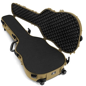 ABS plastic guitar gun case