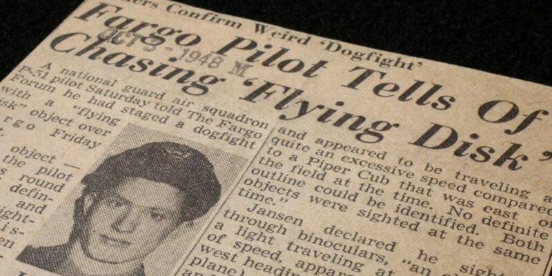1948 Dogfight with a UFO over North Dakota