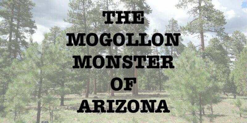 Mogollon Monster of Arizona