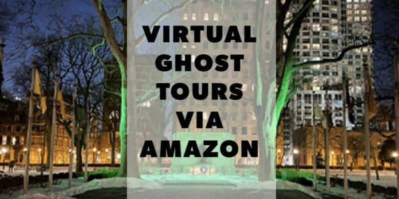 Virtual Ghost Tours Via Amazon