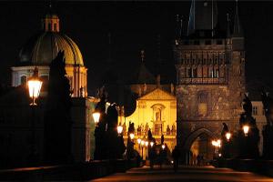 Virtual ghost tour of Prague via Amazon Explore